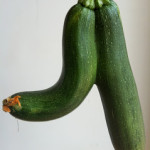 This week I'm grateful for my extra special zucchini