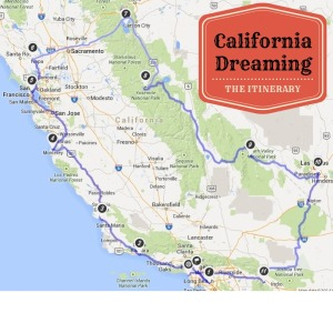 California Dreaming graphic